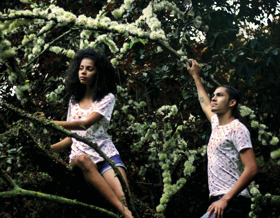 """Bandada"" unisex t-shirt. Photography: Mia Zaplana. Espiritu Santo, BR. 2016."