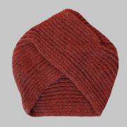 Clay color turban