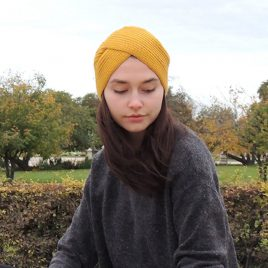 Alpaca winter turban