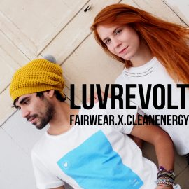 LuvRevolt: Fairwear x Clean Energy