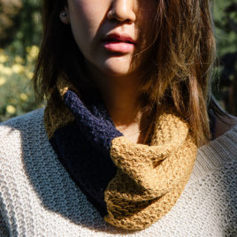BHuit- mini snood bicolor