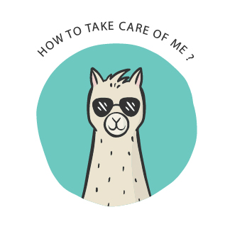 How to care for your alpaca knit?
